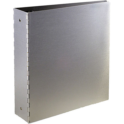 "Pina Zangaro Machina 1"" Three-Ring Binder - Aluminum"