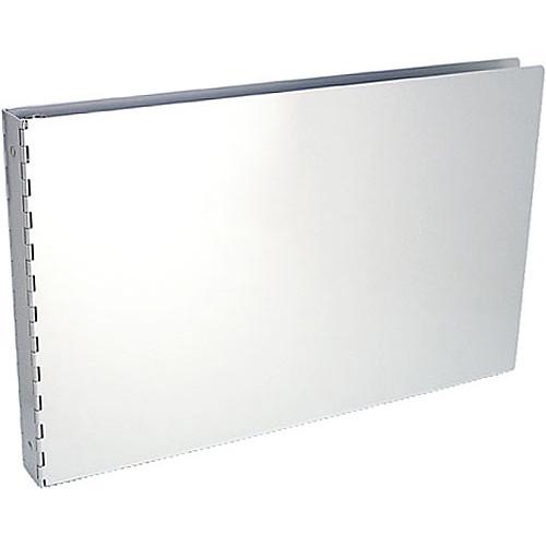 """Pina Zangaro Machina 1"""" Three-Ring Binder - 11 x 17x 1"""" - Aluminum"""