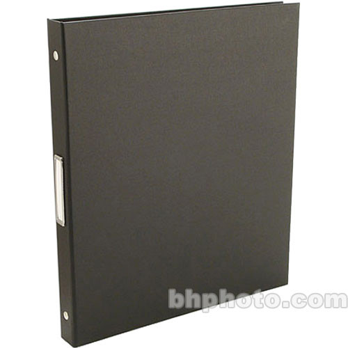 "Pina Zangaro 36407  Bex 3-Ring Binder (11.75 x 10.25"" x 0.5"") (Black)"