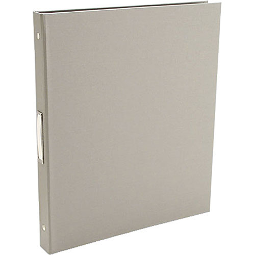 "Pina Zangaro 36408  Bex 3-Ring Binder (11.75 x 10.25"" x 0.5"") (Gray)"