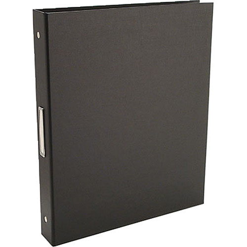 "Pina Zangaro 36409  Bex 3-Ring Binder (11.75 x 10.25"" x 1"") (Black)"
