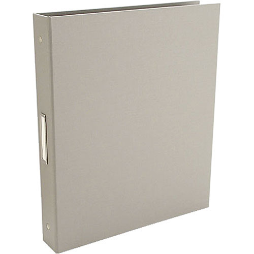"Pina Zangaro 36410  Bex 3-Ring Binder (11.75 x 10.25"" x 1"") (Gray)"