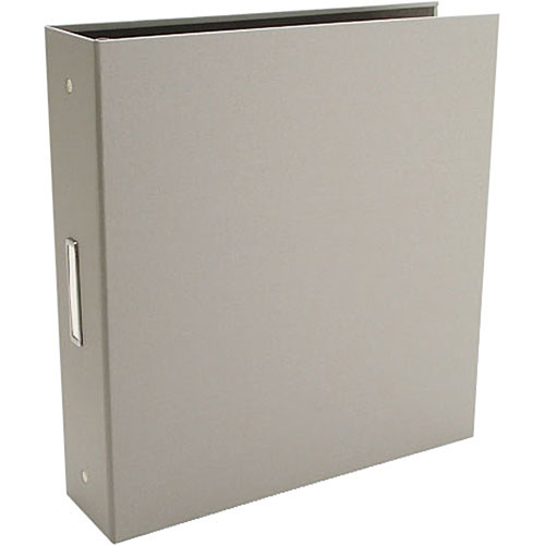"Pina Zangaro 36415  Bex 3-Ring Binder (11.75 x 10.25"" x 2"") (Gray)"