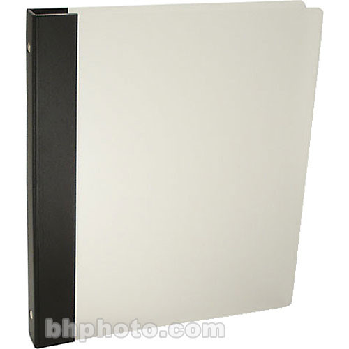 "Pina Zangaro Frost 1/2"" Three-Ring Binder - Black"