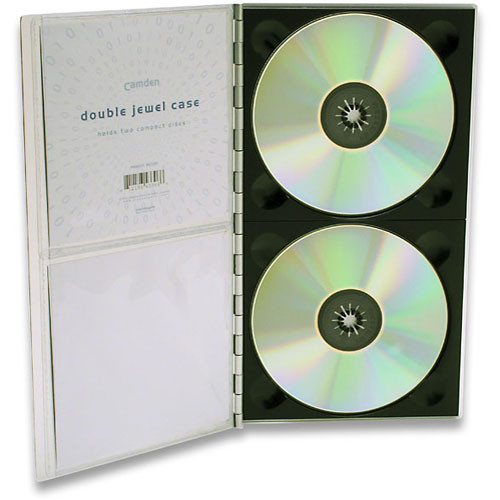 Pina Zangaro Camden CD Jewel Case (Double)