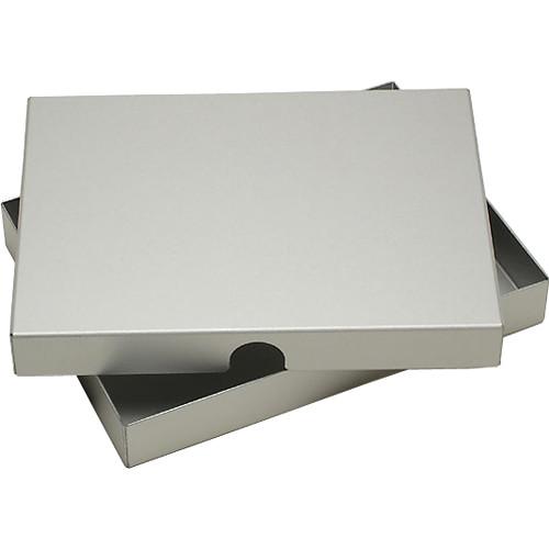 "Pina Zangaro Camden Storage Box (5.65 x 7.65 x 2"", Anodized Aluminum)"