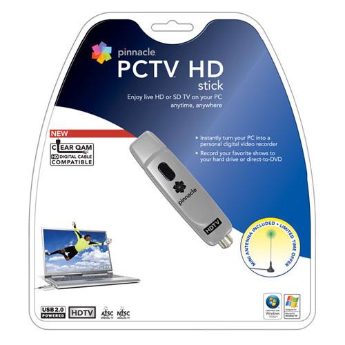 Pinnacle PCTV HD Stick External USB HDTV Tuner