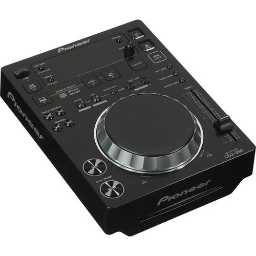 Pioneer CDJ-350 Digital Multi Player (Black)