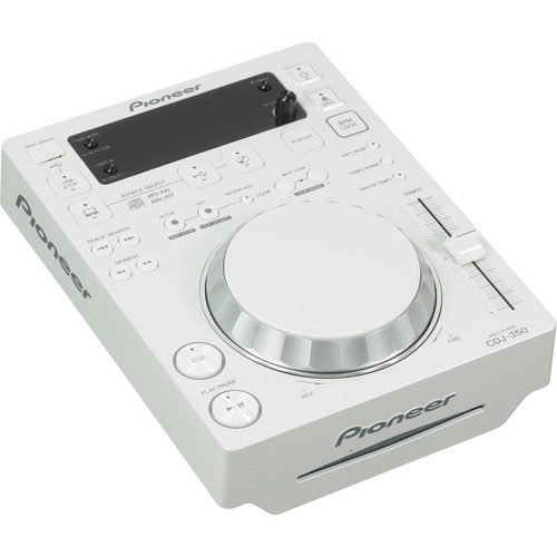 Pioneer CDJ-350 Digital Multi Player (White)
