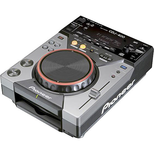 Pioneer CDJ-400 CD and MP3 Player with USB for DJs