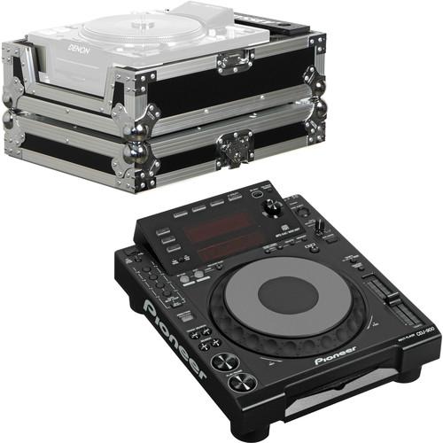 Pioneer CDJ-900 Professional DJ Media Player and Flight Case Kit