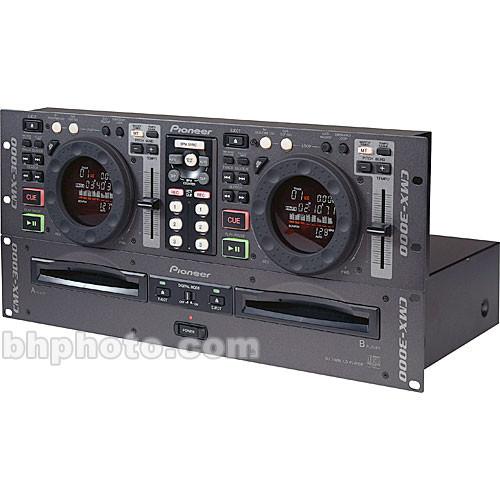 Pioneer CMX-3000 Dual DJ CD Player