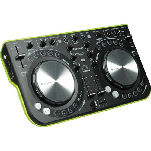 Pioneer DDJ-WeGO - Compact DJ Controller (Green)