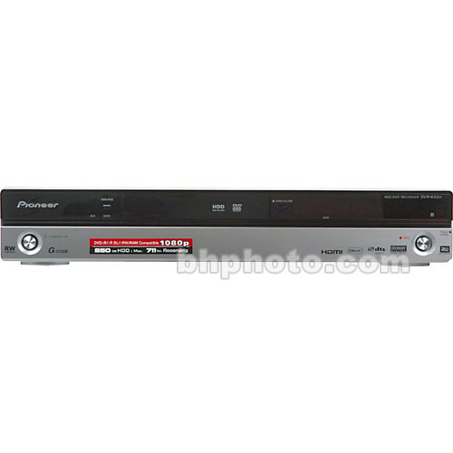 Pioneer DVR-650HS Multi-System 250GB DVD-Recorder