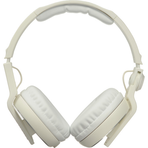 Pioneer HDJ-500W Professional DJ Headphones (White)