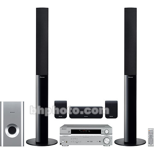 Pioneer Htp 3800 Home Theater System, Wall Mounted Surround Sound System