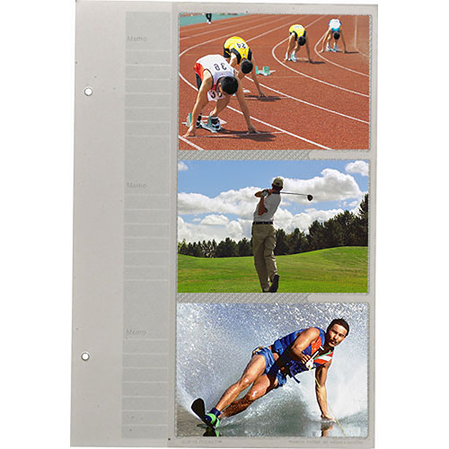 Pioneer Photo Albums 46BPR Refill Pages for the BP-200 and BP-200F Photo Albums (Pack of 5)