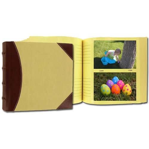 Pioneer Photo Albums 639300 Extra Capacity 300 Pocket Photo Album (Beige with BrownTrim)