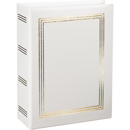 "Pioneer Photo Albums A4-100 4 x 6"" Photo Album (White)"
