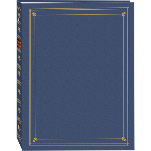 Pioneer Photo Albums APS-247 3-Ring Bi-Directional Memo Pocket Album (Bay Blue)