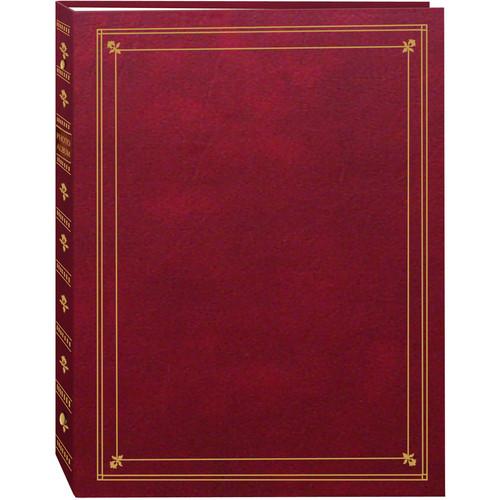 Pioneer Photo Albums APS-247 3-Ring Bi-Directional Memo Pocket Album (Burgundy)