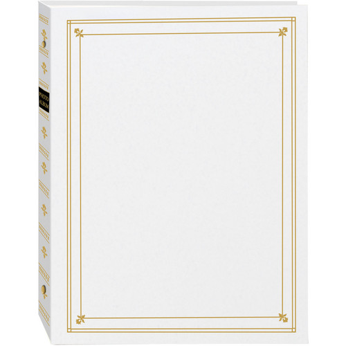 Pioneer Photo Albums APS-247 3-Ring Bi-Directional Memo Pocket Album (White)