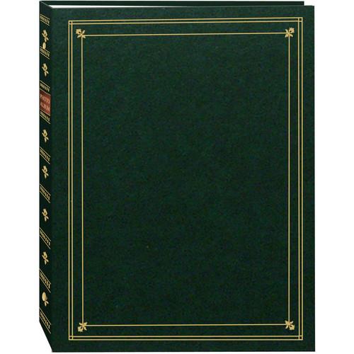 Pioneer Photo Albums APS-247 3-Ring Bi-Directional Memo Pocket Album (Hunter Green)