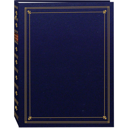 Pioneer Photo Albums APS-247 3-Ring Bi-Directional Memo Pocket Album (Navy Blue)