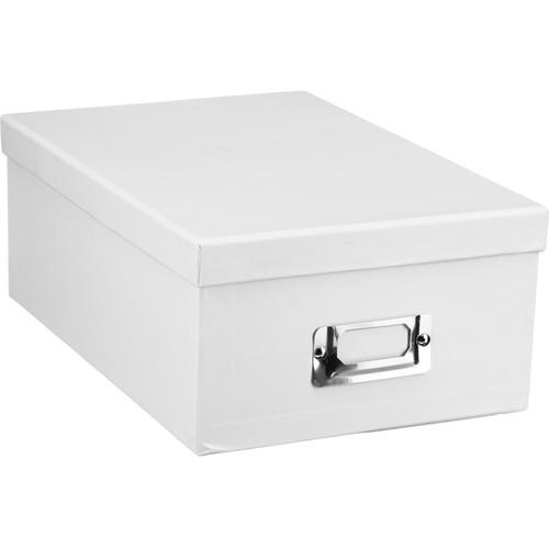Pioneer Photo Albums Photo Storage Box (White)