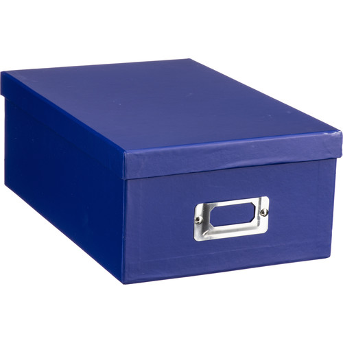 Pioneer Photo Albums Photo Storage Box (Bright Blue)