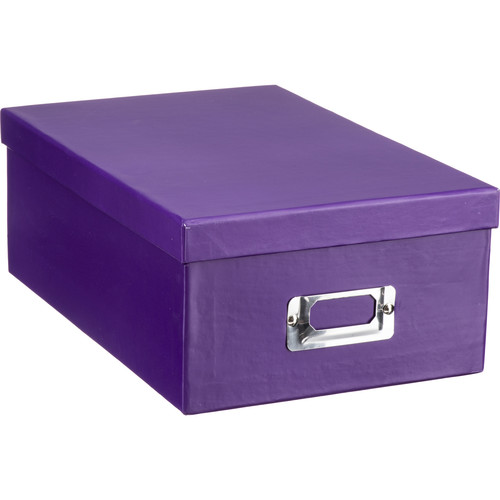 Pioneer Photo Albums Photo Storage Box (Bright Purple)
