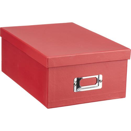 Pioneer Photo Albums B1S-R Deluxe Photo Storage Box (Bright Red)