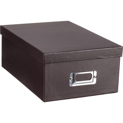 Pioneer Photo Albums B1S-DB Deluxe Photo Storage Box (Dark Brown)