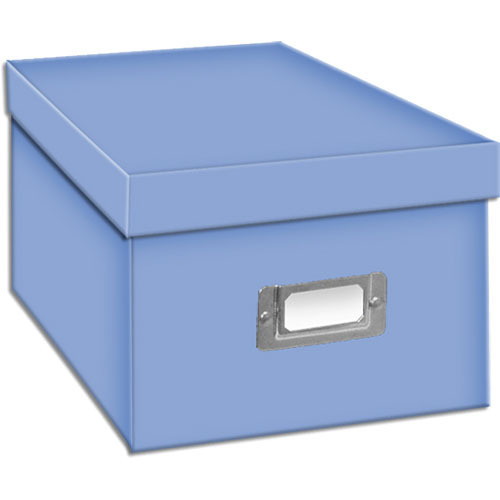 Pioneer Photo Albums BCD-1S/BB Photo CD/DVD Storage Box (Bright Blue)