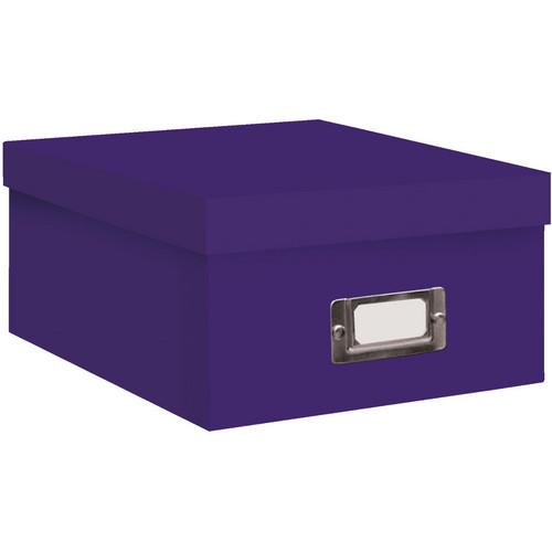Pioneer Photo Albums BCD-1S/BP Photo CD/DVD Storage Box (Bright Purple)