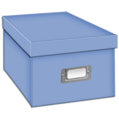 Pioneer Photo Albums BCD-1S/SB Photo CD/DVD Storage Box (Sky Blue)