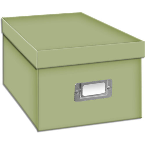 Pioneer Photo Albums BCD-1S/SG Photo CD/DVD Storage Box (Sage Green)