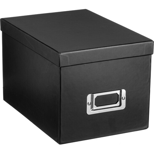 Pioneer Photo Albums BCD-1BLK Photo CD/DVD Storage Box (Black)