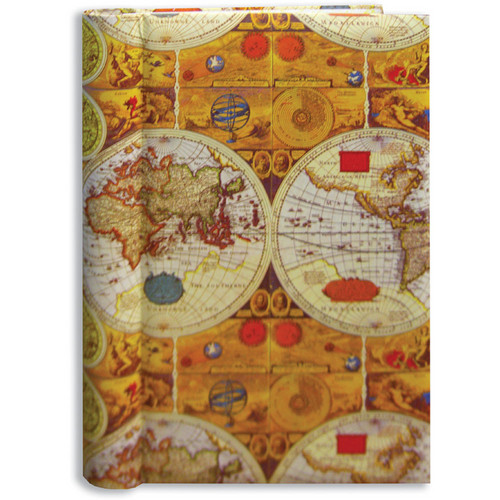 Pioneer Photo Albums BDP-35D Design Cover Photo Album (Ancient World Map)
