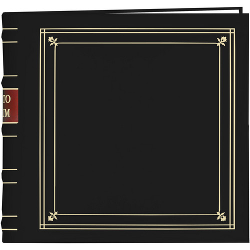 Pioneer Photo Albums Bonded Leather Photo Album (Black)