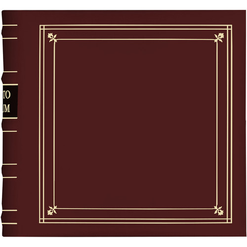 Pioneer Photo Albums Bonded Leather Photo Album (Burgundy)