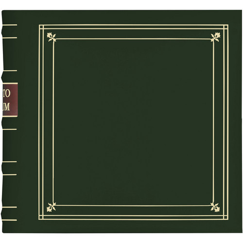 Pioneer Photo Albums BL-200 Bonded Leather Photo Album (Hunter Green)