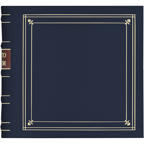 Pioneer Photo Albums BL-200 Bonded Leather Photo Album (Navy Blue)