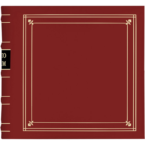 Pioneer Photo Albums BL-200 Bonded Leather Photo Album (Red)