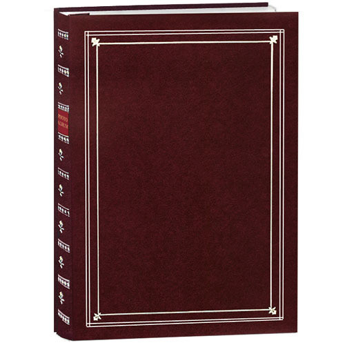 Pioneer Photo Albums Bi-Directional Photo Album (Burgundy)