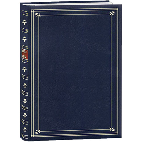 Pioneer Photo Albums Bi-Directional Photo Album (Navy Blue)