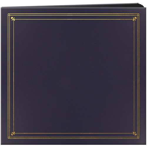 Pioneer Photo Albums Full Size Post Style Pocket Album (Bay Blue)
