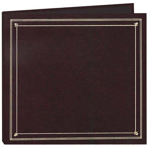 Pioneer Photo Albums Full Size Post Style Pocket Album (Burgundy)