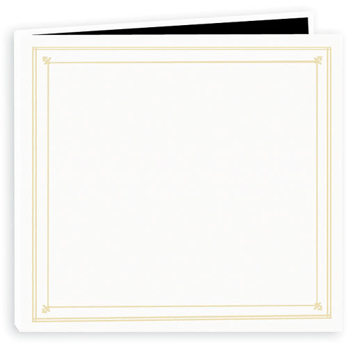 Pioneer Photo Albums Full Size Post Style Pocket Album (Bright White)