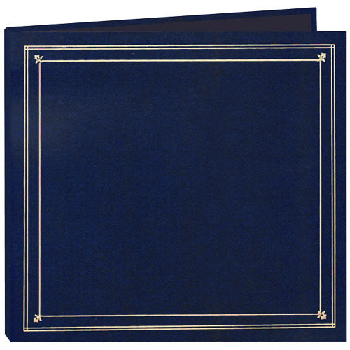 Pioneer Photo Albums Full Size Post Style Pocket Album (Royal Blue)